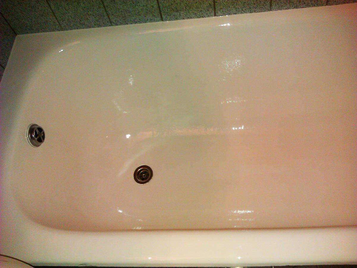 Ванна после реставрации